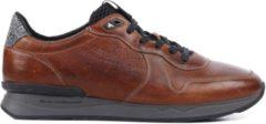 Floris van Bommel Mannen Sneakers - 16277 led - Cognac - Maat 41
