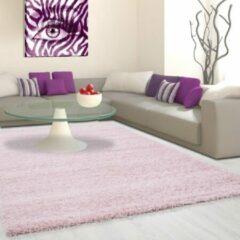 Life Hoogpolig Vloerkleed - Antalya - Rechthoek - Roze - 80 x 250 cm - Vintage, Patchwork, Scandinavisch & meer stijlen vind je op WoonQ.nl