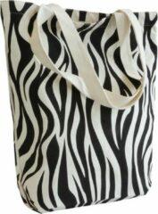 Zwarte ROTIM 10x canvas shopper Zebra 10x canvas shopper Zebra