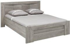 Gamillo Furniture Tweepersoonsbed Eden 140x190cm in grijs eiken