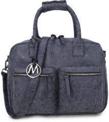 Antraciet-grijze Wimona Alessia - school / werk 14 inch laptoptas - westernbag - zwart