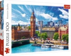 Massamarkt Puzzel Zonnige dag in London 500pcs