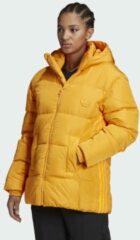 Gouden Adidas Puffer Donsjack
