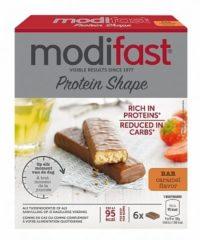 Modifast ProtiPlus Reep Chocolade-Karamel 6 x 27 gr