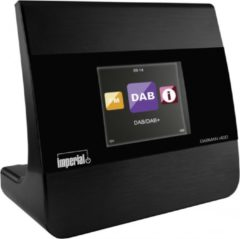 Imperial DABMAN i400 Internet Radio-adapter Bluetooth, DAB+, DLNA, Internetradio, FM, WiFi Geschikt voor DLNA, Multiroom ondersteuning Zwart