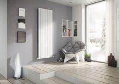 Ximax P1 Vertikale Paneelprofile Designheizkörper B 44,5 x H 180 x T 6,5 cm weiß