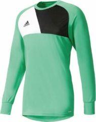Adidas Assita 17 GK Jersey Keepersshirt Heren Sportshirt - Maat L - Mannen - groen/zwart/wit