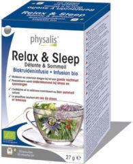 Physalis Relax & sleep bio thee 20 Stuks