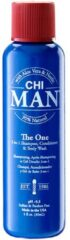 CHI Man - The One 3-In-1 Shampoo, Cond.&Body Wash - 30 ml