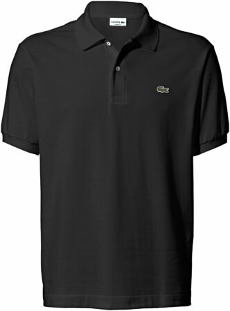 Afbeelding van Zwarte Lacoste Men's Basic Pique Short Sleeve Polo Shirt - Black - 6/XL - Black