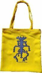 Anha'Lore Designs - Alien - Exclusieve handgemaakte tote bag - Geel