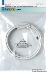 "Axing Antenne Aansluitkabel [1x Antennestekker 75 â""¦ - 1x Antennebus 75 â""¦] 10 m 85 dB Wit"