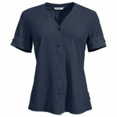 Vaude - Women's Skomer Shirt III - Blouse maat 38, blauw/zwart