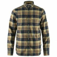 Fjällräven - Singi Heavy Flannel Shirt - Overhemd maat L, oranje/blauw/turkoois/olijfgroen/grijs/bruin/bruin/zwart/blauw/o