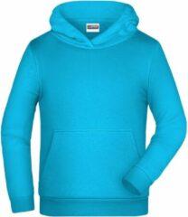 James & Nicholson James And Nicholson Kinderen/Kinderen Basic Hoodie (Turquoise)