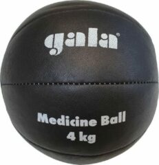 Gala Medicine Ball - Medicijn bal - 4 kg - Zwart Leer