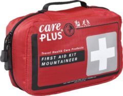 Care Plus - First Aid Kit Mountaineer - Eerste-Hulpset maat One Size, rood