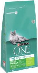 Purina One Indoor Formula Kalkoen - Kattenvoer - 1.5 kg - Kattenvoer
