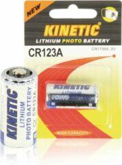 Kinetic Cr123a Cr123 Lithium Foto Batterij 3 V 1200 Mah 1-blister