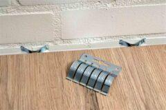 Zilveren MacLean Mac Lean Parketveer 20 Stuks - 11mm Spanveren voor zwevende vloer