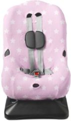 Briljant Baby - Autostoelhoes interlock - maat 1 roze - design Thijs