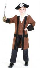 Zwarte Fun & Feest Party Gadgets Luxe piratenjas voor kinderen 140 (10 jaar)