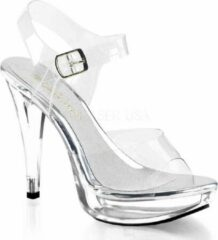 Fabelicious Fabulicious Sandaal met enkelband -37 Shoes- COCKTAIL-508 US 7 Wit