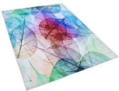 Beliani ANTAKYA Vloerkleed Meerkleurig Polyester 140 x 200 cm