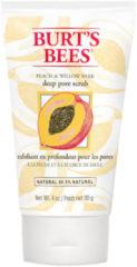 Burt's Bees Peach & Willowbark Deep Pore Scrub Gezichtspeeling 110g