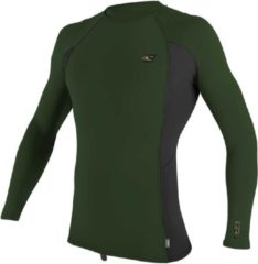O'Neill - UV-shirt voor heren - Longsleeve - Premium Rash - Olijfgroen - maat XL