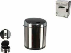 Gerimport Prullenbak Sensor 23 X 30 Cm Rvs Zilver 6 Liter