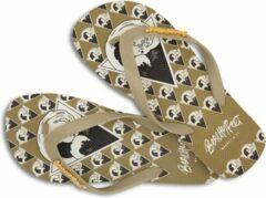 Zandkleurige BeachyFeet slippers - La Onda (maat 43/44)