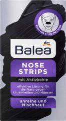 Zwarte DM Balea Neusstrips met actieve kool (3 stuks)