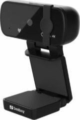 Zwarte Sandberg USB Webcam Pro+ 4K