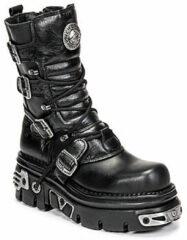 Zwarte Laarzen New Rock NEMESIS