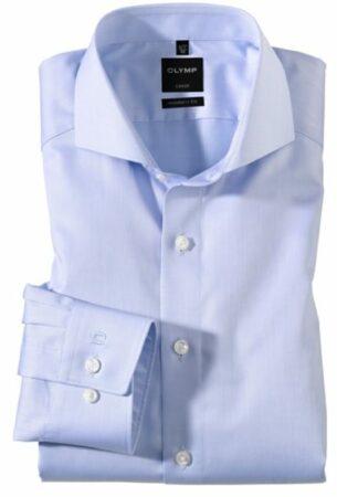 Afbeelding van Blauwe Olymp Overhemd 035064 Blauw