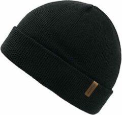 Forest Muts Zwart - Zwarte Beanie - Wakefield Headwear - Mutsen