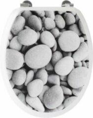 GELCO Pebble WC toiletbril - grijs