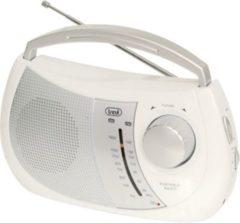 Trevi RA 764 portables 2 Band AM/FM-Radio im trendigen Design - weiß