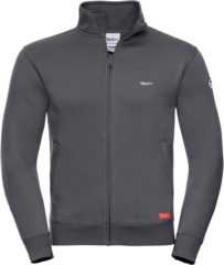Grijze Rock .. Sweat Jacket Basalt Gray - Maat L - Off Side - incl. Gratis rugzak