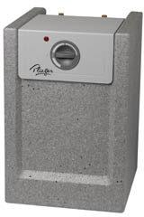 Afbeelding van Plieger keukenboiler met koperen ketel 10 liter 2000W 12mm aansluiting 4390038