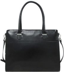 Zwarte Claudio Ferrici Classico 18038 Businessbag 15 inch black