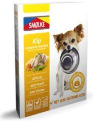 Smolke Vers Gestoomde Maaltijd 395 g - Hondenvoer - Kip&Bruine Rijst&Groente - Hondenvoer