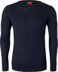 Blauwe Olymp Heren Level Five Body Fit Merino Silk Navy XL