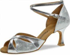 Salsaschoenen Hoge Hak Dames Diamant 141-087-463 – Zilver Antiek – 6,5 cm Hak – Maat 39