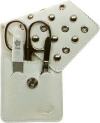 Sonstiges PFEILRING Pfeilring Taschen-Maniküretui, Nappaleder, weiß, 3-teilige Bestückung