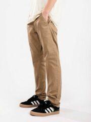 Reell - Flex Tapered Chino - Vrijetijdsbroek maat 36/32, bruin/beige