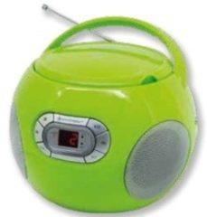 Groene Soundmaster SCD2120GR HiFi CD player Groen cd-speler