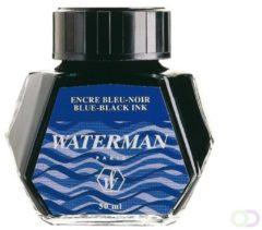 Blauwe Huismerk Waterman Vulpen inktpotje Blauw 50ml