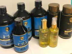 Actie!Robson Peluquero CCRP Hersteller&Homecare set&Hairparfum&Haar Olie
